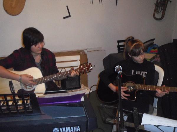 Ecole de musique Noves : musique in Nov'<br /> atelier de composition de chanson
