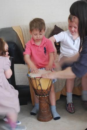 Découverte des percussions